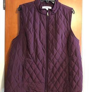 Croft and Barrow women's vest.